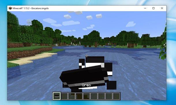 Mod Oreo Minecraft