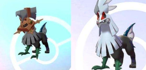 Sprite Pokémon Tipo Zero e Silvally
