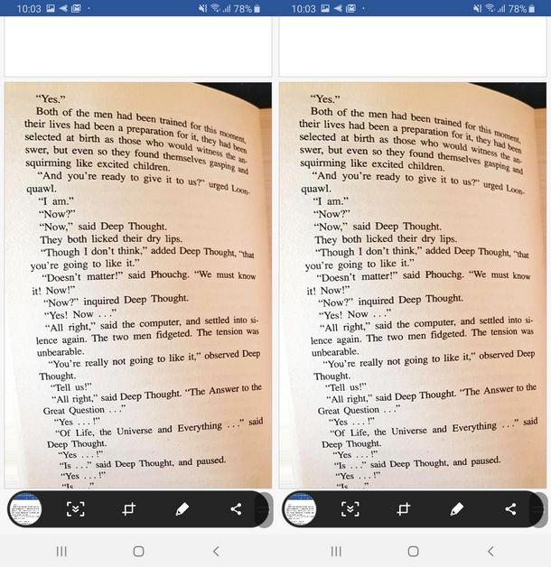 Acquisire foto per copiare il testo con Microsoft Lens