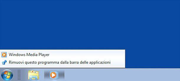 Iconos de la barra de tareas de Windows 7