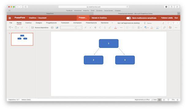 Mappa PowerPoint Online
