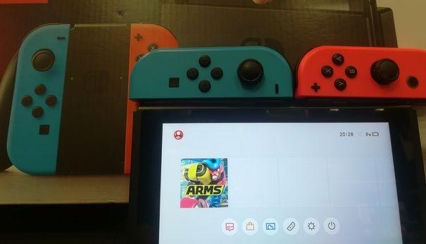 Procedere al riavvio di Nintendo Switch