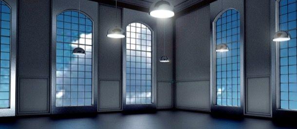 Finestre e lampadari