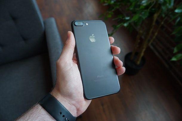 Notifiche flash iPhone