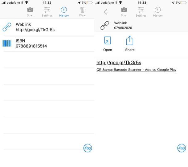 QR & Barcode Scanner per iOS