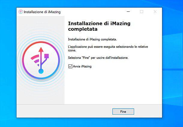 Installazione iMazing