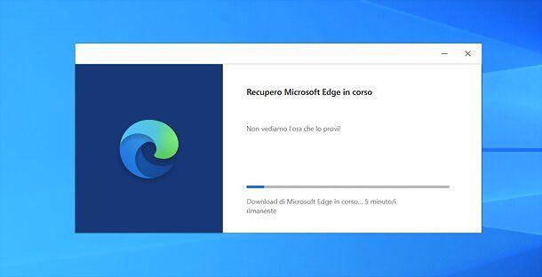 Installazione Microsoft Edge Chromium