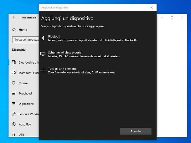 Come collegare una tastiera Bluetooth al PC