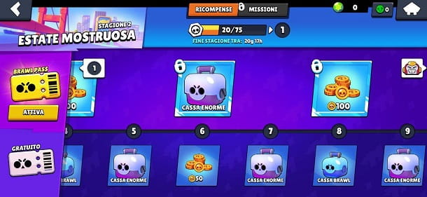 Pass stagionale 3 Brawl Stars