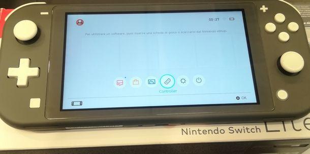 Nintendo Switch è pronta per essere riutilizzata dopo il reset dei controller