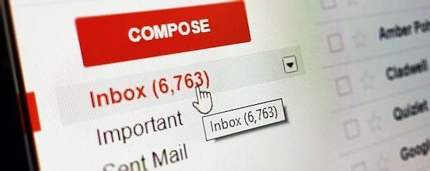 Liberare spazio Gmail