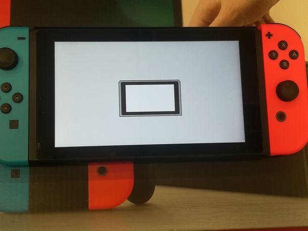 Riconfigurare Nintendo Switch dopo il ripristino