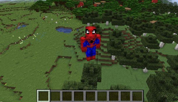 Spiderman Minecraft