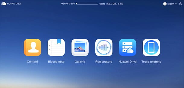 Cloud Huawei da PC