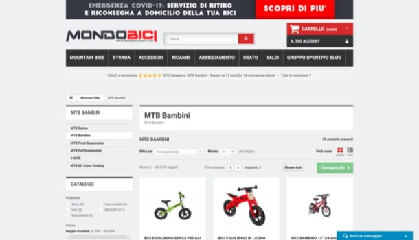 Mondobicistore.com