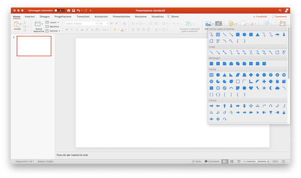 Mappa PowerPoint PC