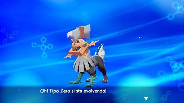 Tipo Zero si sta evolvendo