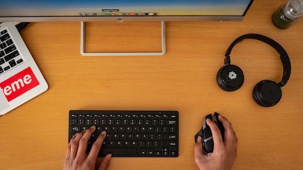 Connettere cuffie Bluetooth PC
