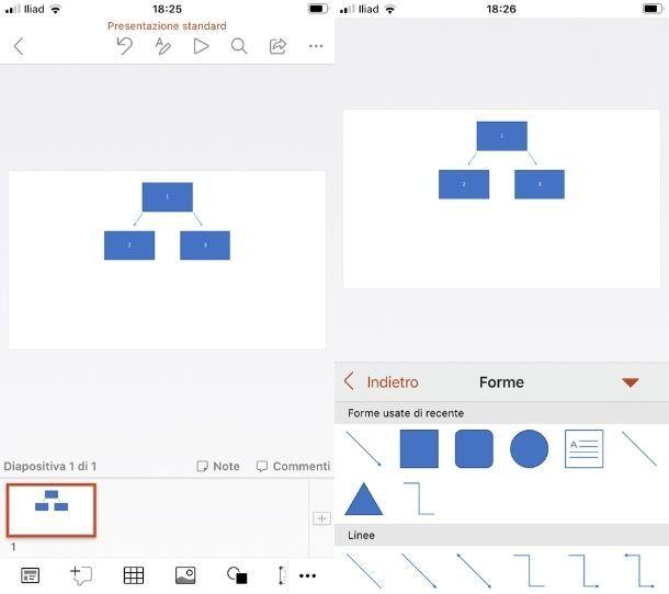 Mappa PowerPoint app