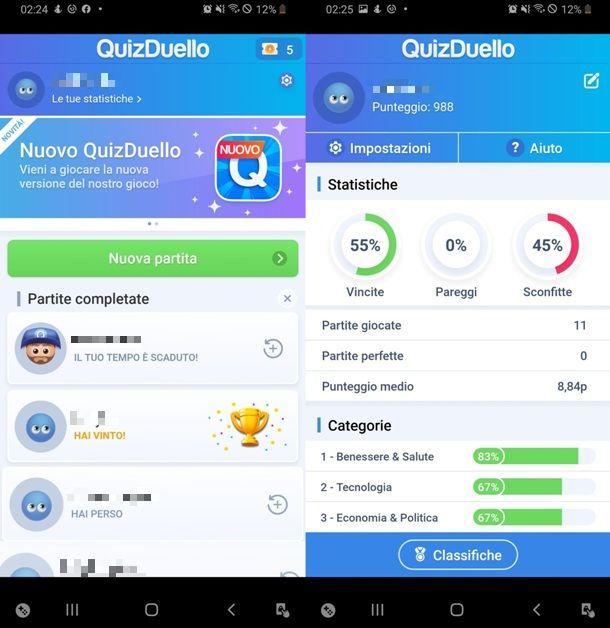 Giocare a QuizDuello su Android