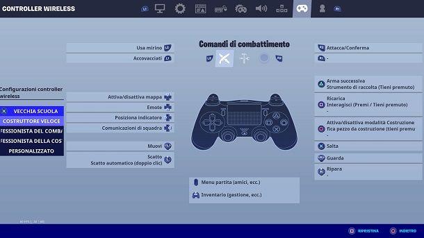 Professionista del combattimento Fortnite PS4