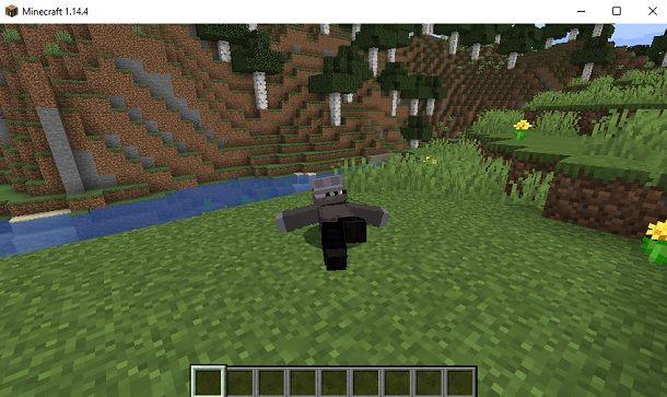 Sdraiato Minecraft