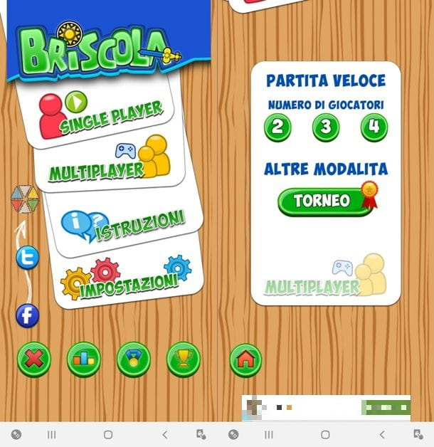 Giocare a Briscola su Android