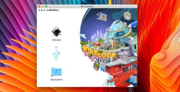 Installazione di Inkscape su macOS