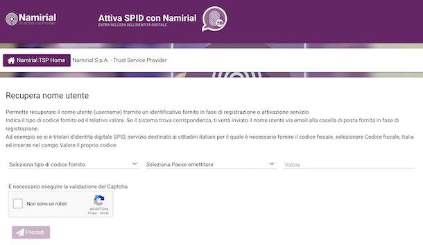 SPID Namirial