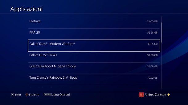 COD Modern Warfare Warzone peso PS4