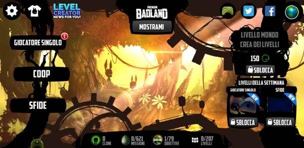 Giocare a Badland