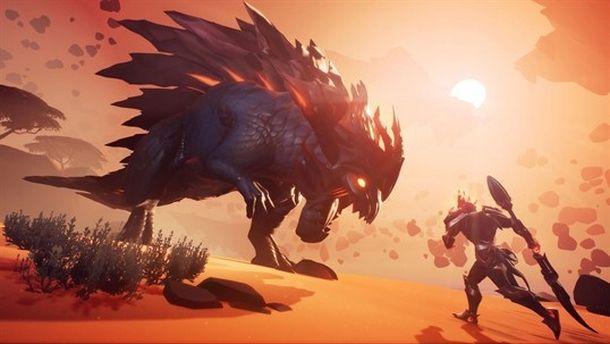 Azione alla Monster Hunter in Dauntless