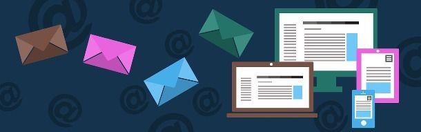 Inviare e-mail