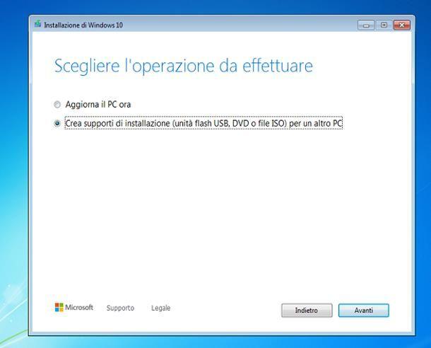 Come scaricare Windows 10 su Windows 7 gratis