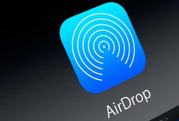 Come attivo AirDrop