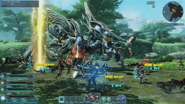 Phantasy Star Online è un RPG giapponese gratuito