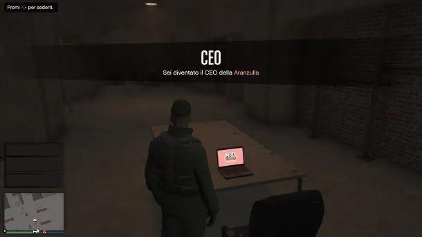 Computer sala giochi GTA Online