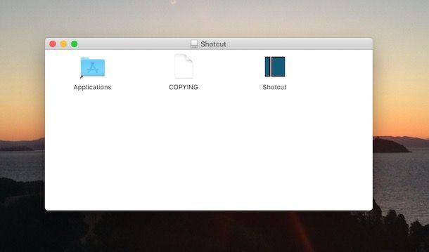 Come scaricare Shotcut su Mac