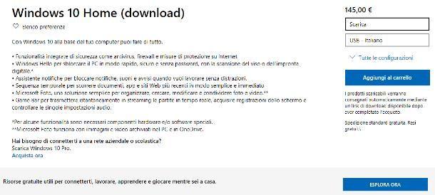 Come scaricare Windows 10 su Windows 7