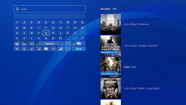 Come installare Call of Duty Modern Warfare su PS4
