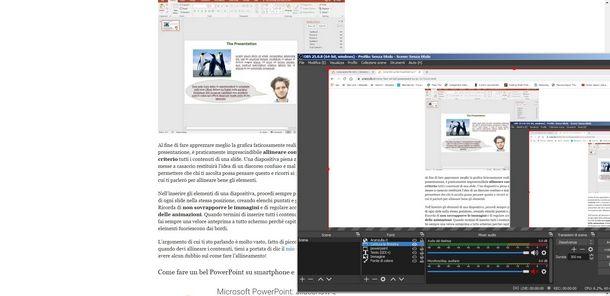 Cattura schermo o cattura finestra sono fonti per registrare lo schermo del PC con OBS