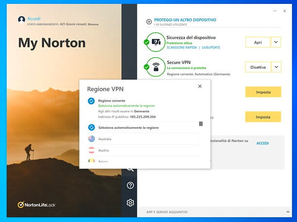 VPN Norton 360