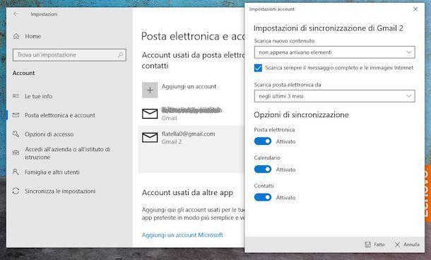Account Google Windows