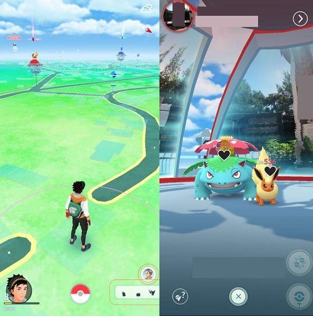 Palestre Pokemon GO