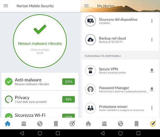 App Norton 360
