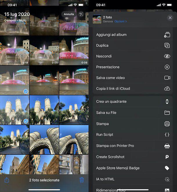 Come spostare le foto in Galleria su iPhone