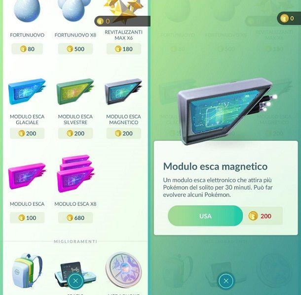 Modulo esca magnetico Pokemon GO