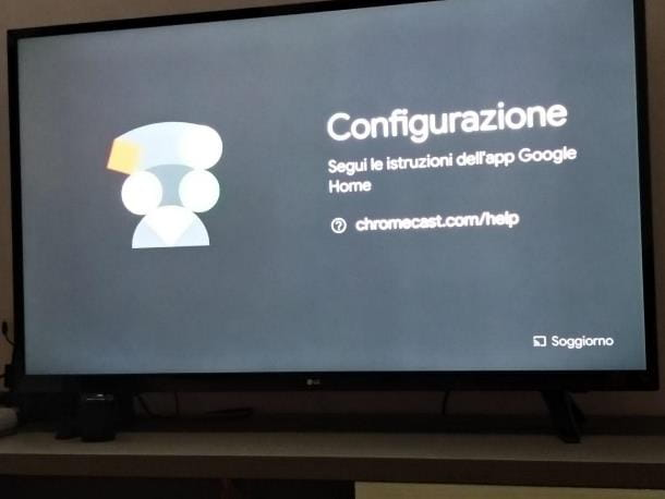 Come cambiare WiFi del Chromecast