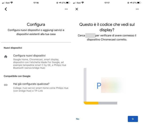 Come configurare Chromecast con iPhone
