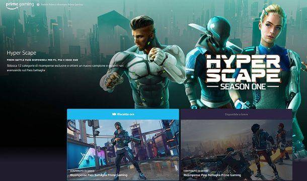 Twitch Prime Ubisoft Hyper Scape